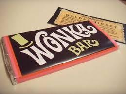 wonka chocolate bar wrapper. Simple Chocolate Image Is Loading 100xWillyWonkaChocolateBarWrappers100 With Wonka Chocolate Bar Wrapper A