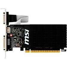 <b>Видеокарта MSI GeForce</b> GT710 1Gb 64bit 954/1600MHz (GT 710 ...