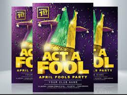 Photoshop Design Flyer April Fools Party Flyer By Tiffany Deutz On Dribbble