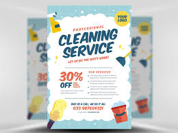 Services Flyer Cleaning Service Flyer Template V2 Flyerheroes Cleaning Services