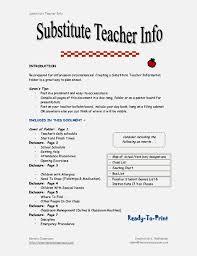 best substitute teacher job duties for resume pictures simple