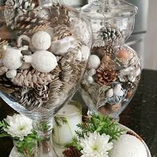 Apothecary Jar Decorating Ideas winterapothecaryjarfillerideadiykitchendecor Love of Home 34
