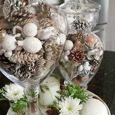 Apothecary Jars Decorating Ideas winterapothecaryjarfillerideadiykitchendecor Love of Home 28