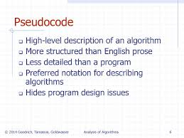 Goodrich Tamassia Algorithm Design Analysis Of Algorithms Ppt Download