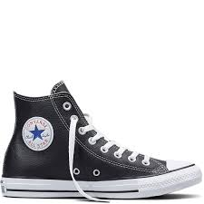 contact all white leather chucks