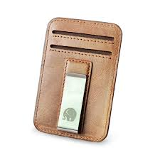 <b>Wholesale Genuine Leather Money</b> Clip Metal Card Pack Wallet ...