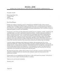 Cover Letter Sample Architecture