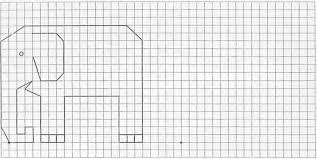 Easy Things To Draw On Graph Paper Easy Graph Paper Drawing