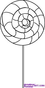 Swirl Lollipop Coloring Page Projects To Try Swirl Lollipops