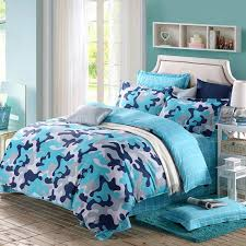navy and aqua bedding irrational blue sky grey white modern camouflage print abstract home design ideas