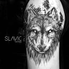 At Slavictattoo Slavic Tattoo Wolf For Matěj Sleeve Part 2