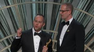 sfsu com jonas rivera is seen accepting his oscar for his work on the pixar film inside out san francisco state university