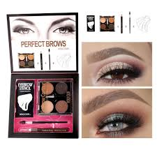 color box eyebrow powder eye brow pencil eyes brow brush eyebrows card set new brand eye makeup kit cosmetics makeup brands tattoo eyebrows from bi