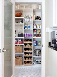 Kitchen: Small Pantry Shelving Decor - Kitchens