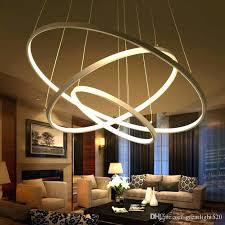 ring light chandelier 5 of led
