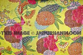 ON SALE Floral Kantha Quilt yellow Kantha Quilt Floral Kantha Blanket, & ... ON SALE Floral Kantha Quilt yellow Kantha Quilt Floral Kantha Blanket,  Kantha Bedspread Throw, ... Adamdwight.com