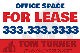 for lease sign template for lease sign template for sale yard sign san diego for rent yard