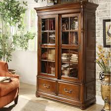 glass door bookcase fresh double sliding glass door bookcase by riverside furniture
