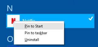 pinning shortcuts to windows 8 start