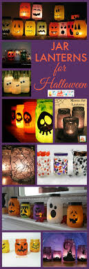 simple jar lanterns for