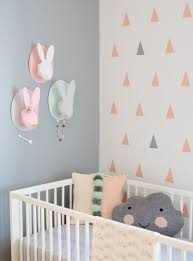 Cozy Living Modern Baby Girl Nursery Nice Perfect Designing Room Wallpaper  Shade Sticker Decal Bedding