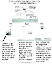 how to install bathtub drain install bathtub drain bathtub drain pipe how replacing bathtub drain shoe
