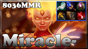 dota 2 miracle 8036mmr top 1 mmr in the world plays lina