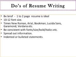 Resume Font Size Arial Placestoread Best Resume Font Size