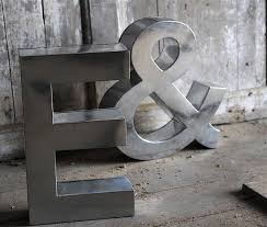 Large Metal Letters Home Decor Great Large Metal Wall Letters within Large Metal  Letters For Wall