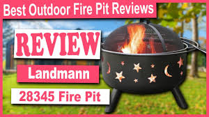 Landmann 23875 Firedance Bear Paw Fire Pit Review Best Outdoor Fire Pit Reviews Youtube
