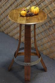 Wine Barrel Kitchen Table Wine Barrel And Barnwood Furniture Tra Vigne