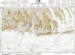 Intracoastal Waterway Nautical Charts Florida Keys Fine Art Nautical Charts Canvas