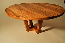 round recycled black maire coffee table by mano round recycled timber