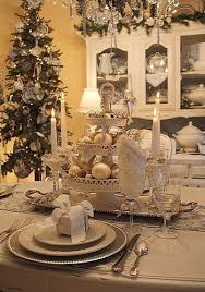Top 100 Christmas Table Decorations - Christmas Decorating - silver table  setting this year