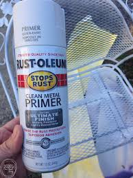 old metal patio furniture can last a long time if it s prepped and painted in the how to paint metal patio furniture