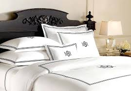 monogrammed duvet covers monogrammed bedspreads bed sheets luxury linens for less monogram bedding sets personalized duvet
