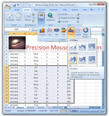 create a pie chart in excel create appealing charts in excel 2007