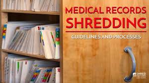 Medical Chart Shredding Medical Records Shredding Guidelines And Processes