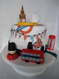 London Themed Cake English Themed Cakes In 2019 Birthday Cake