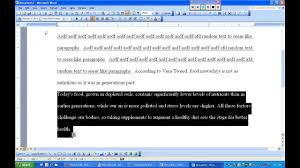 Mla Format Writing Option 5 Lead And Block Quotation With Indentation