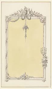 mirror frame drawing. File:Drawing, Design For A Mirror Frame, With Alternative Suggestion, 1780 ( Mirror Frame Drawing R