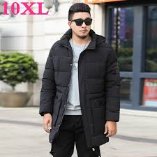 2019 <b>Plus Size 10XL 9XL</b> 8XL Parka For Men New Winter Hooded ...