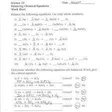 balancing chemical equations interactive works on in practice worksheet quiz answers practic