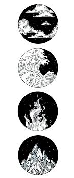 Four Elemental Tattoo тату эскизы в 2019 г идеи для татуировок