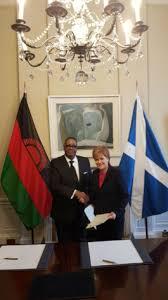 scotland and malawi sign new partnership agreement