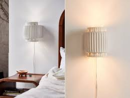 12 plug in wall lights under 100