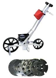 garden seeder this is the brand of garden seed row planter that has been around the