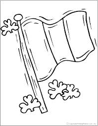 Flag Coloring Pages Free At Getdrawingscom Free For Personal Use