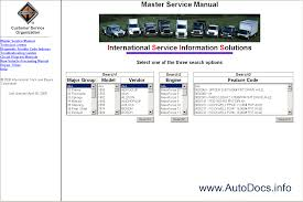 international truck wiring diagram manual international international truck isis international service information on international truck wiring diagram manual