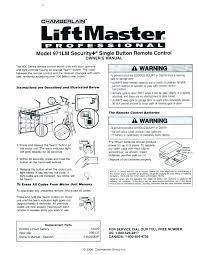 liftmaster garage door opener manual. Simple Liftmaster Liftmaster 41a5021 Manual Garage Door Opener Wonderful Openers Photo  1 Of 8 Keypad Remote Instructions And Liftmaster Garage Door Opener Manual I